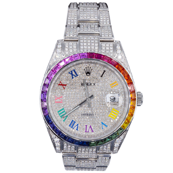 ROLEX RAINBOW DATEJUST