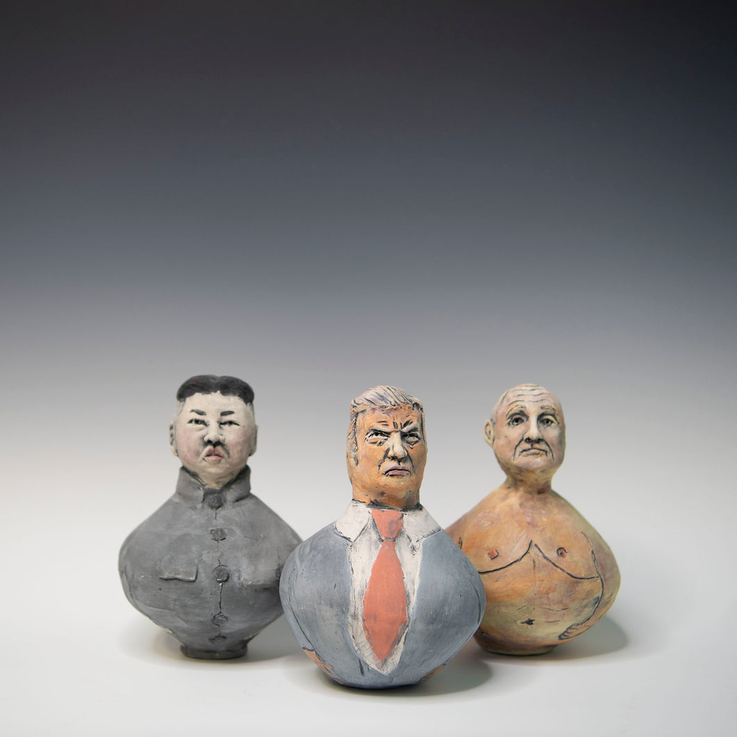 Figure rattles :  Trump and Friends Set of 3