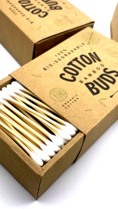 Organic Cotton Buds Sustainably Sourced.
