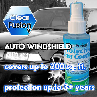 Clear Fusion V for Auto windshields