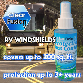 Clear Fusion V for RV windshields