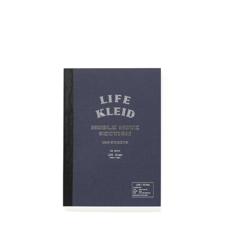 Life A5 Grid Notebook