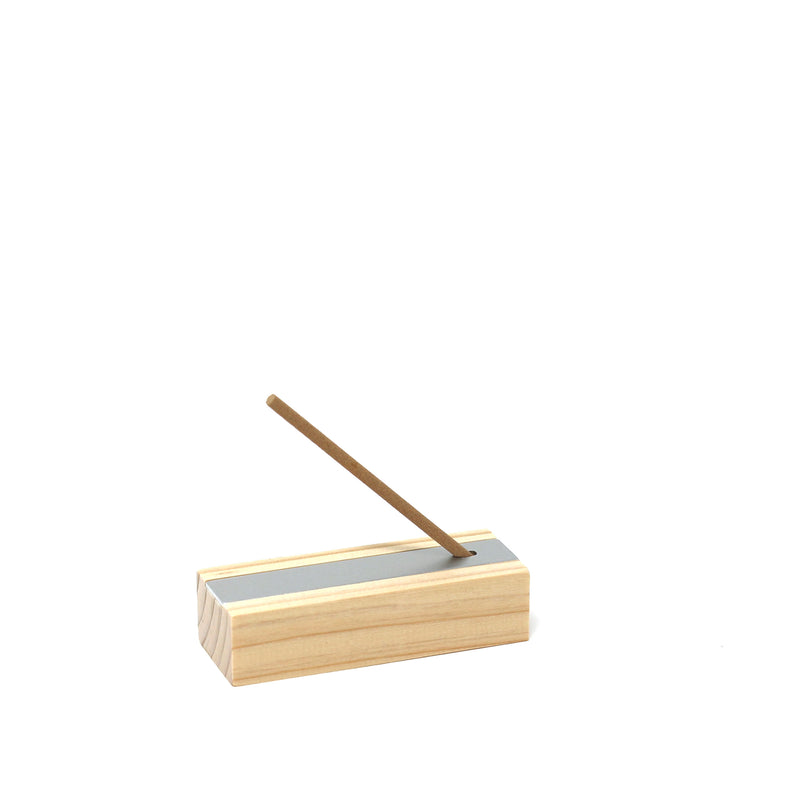 Hinoki Incense + Burner