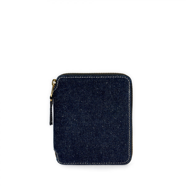 Denim Zipper Wallet