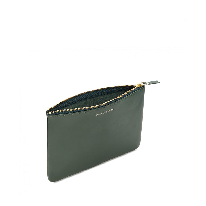 Bottle Green Large Pouch