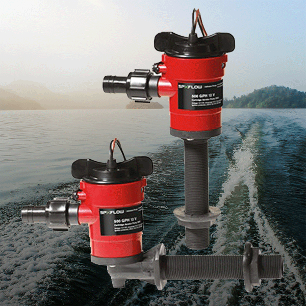 Fishing Livewell Pumps & Accesories