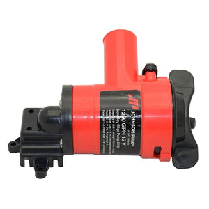 JOHNSON Low Boy Bilge Pump L550 - 800 GPH - 12 Volt  (Includes Dura-Port Connection)