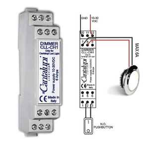 CANTALUPI Dimmer CLL 10-30 Volt DC 1CH*6AMP