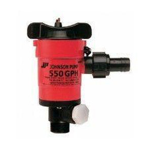 JOHNSON Twin Port Pump 750 GPH - 12V