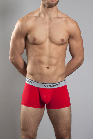 Obviously Core Naked Trunk - Red