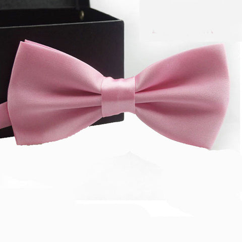 Light Pink Adjustable Bowtie