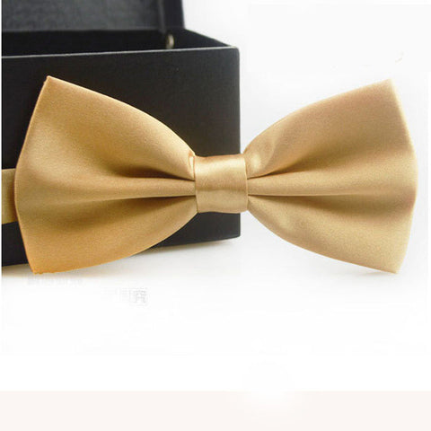 Beige Adjustable Bowtie