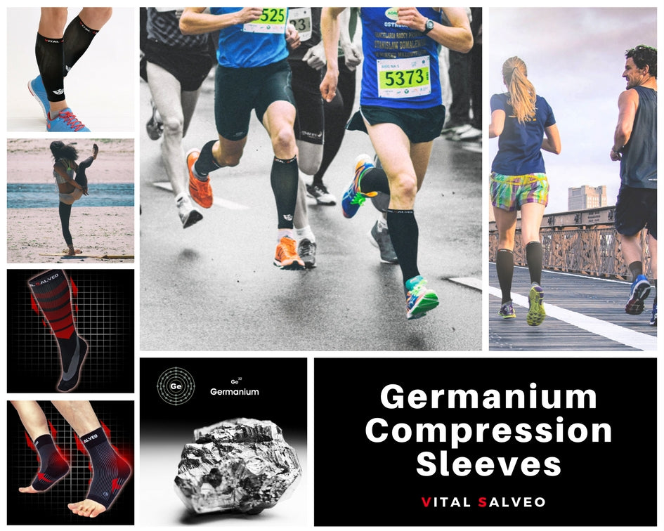 Germanium Compression Sleeves