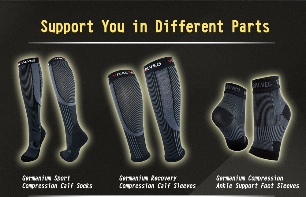 Germanium compression leg part support-compression calf, compression socks, compression ankle