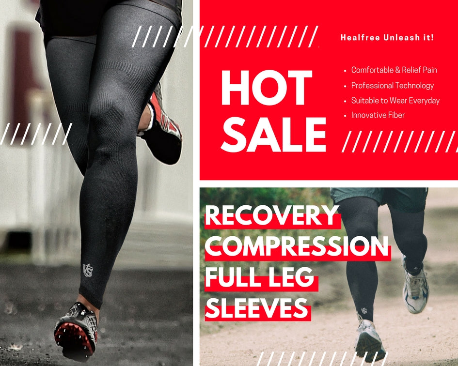 Recovery Compression Full Leg Sleeves