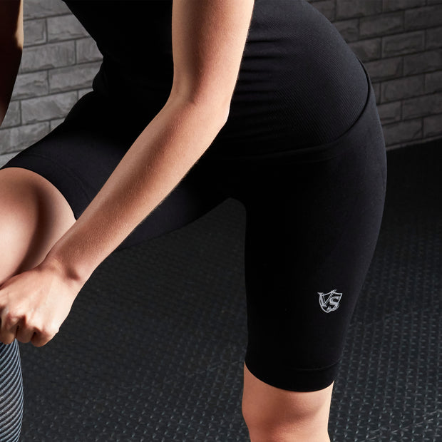 Women Recovery Compression Seamless  Shorts