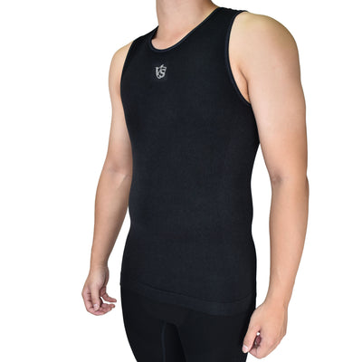 Accessories-Men Recovery Compression Seamless Tank Top - Vital Salveo