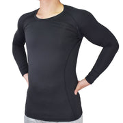 Compression Clothes-Men Compression Recovery Long Sleeve Shirt - Vital Salveo