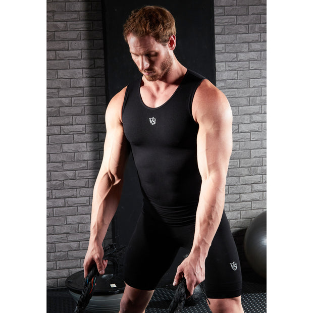 Men Recovery Compression Seamless Tank Top