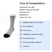 Socks-Dress Socks (Light Gray) - Vital Salveo