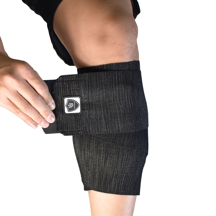 "Brace-Adjustable Elastic Compression Calf Wrap (1PC)-4""* 61"" - Vital Salveo"