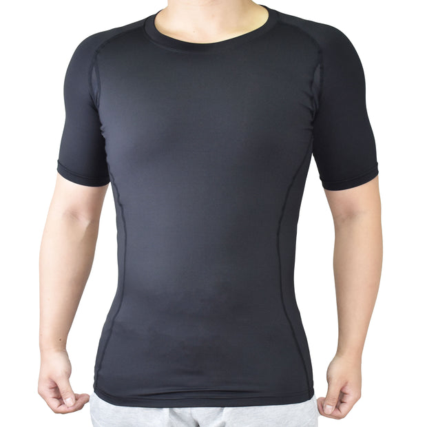 Compression Clothes-Men Compression Recovery Short Sleeve Shirt - Vital Salveo