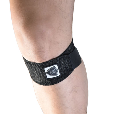 "Brace-Adjustable Elastic Compression Patella Straps (Pair)-2""*16"" - Vital Salveo"