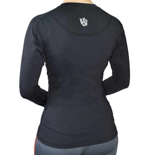 Compression Clothes-Women Compression Recovery Long Sleeve Shirt - Vital Salveo