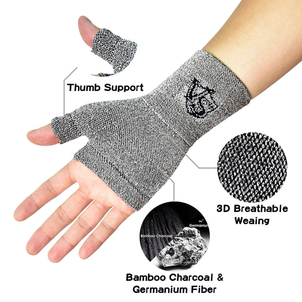 Brace-Compression Recovery Wrist and Thumb Sleeve (1PC) - Vital Salveo
