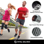 Brace-3D Knit Knee Sleeve/Brace S-SUPPORT - Vital Salveo
