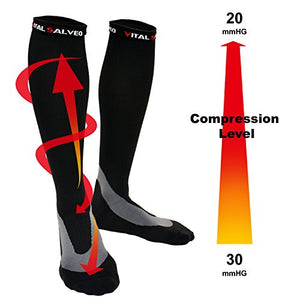 compression socks-Arch Support Performance Compression Calf Socks - Vital Salveo