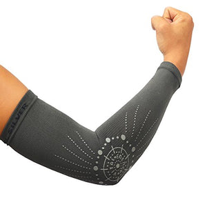 Brace-Bamboo Charcoal Arm Sleeves (2PCS) - Vital Salveo