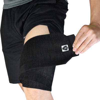 "Brace-Adjustable Elastic Compression Leg Wrap (1PC)-5.5""*70"" - Vital Salveo"