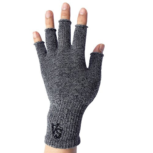 Brace-Fingerless Recovery Gloves - Vital Salveo