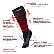 Arch Support Performance Compression Calf Socks - Vital Salveo