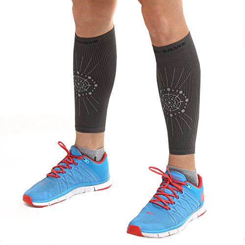 -Bamboo Charcoal Calf/ Shin Sleeves (2PCS) - Vital Salveo