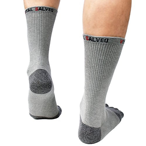 Socks-Toes Athletic Crew Socks - Vital Salveo