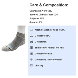 Socks-Seamless Diabetic Socks (Short) - Vital Salveo