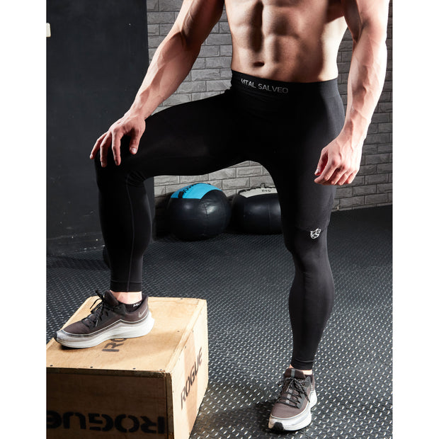 Men Recovery Compression Seamless  Leggings