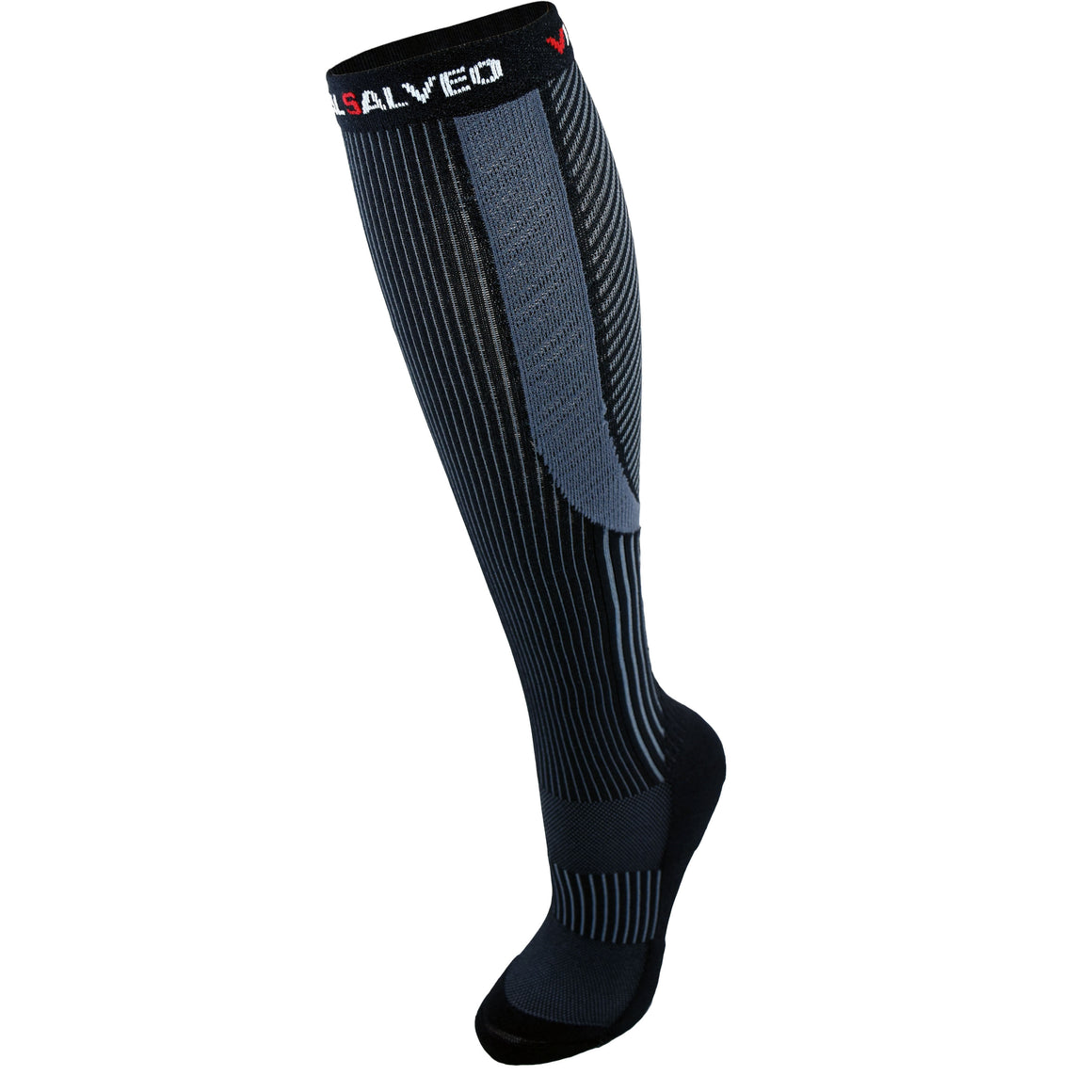 Socks-Germanium Sport Compression Calf Socks /20-30mmHg - Vital Salveo