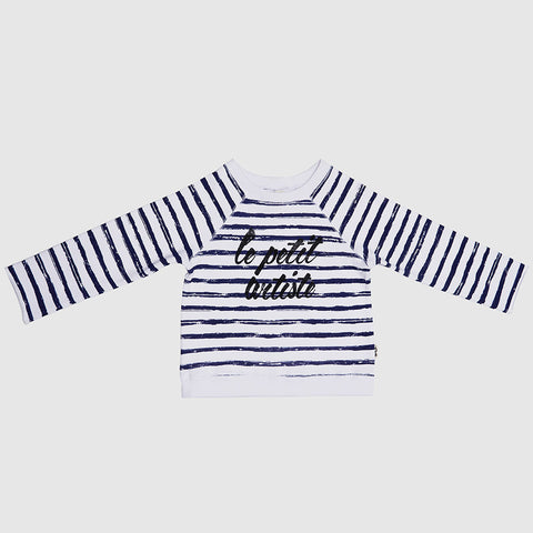 Brush Strokes Sweater