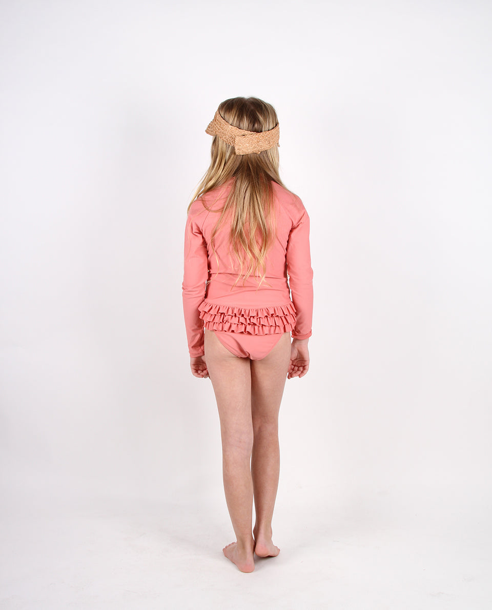 LONG SLEEVE ONE PIECE - AMPOLLA