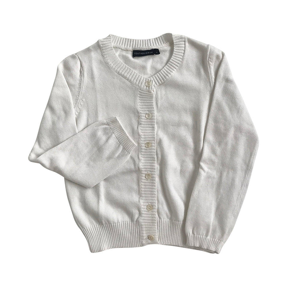 Adair Baby Cardigan - Whisper