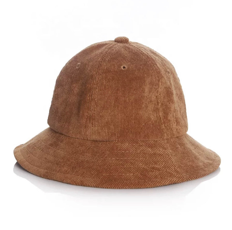 BABY BUCKET HAT - FUDGE
