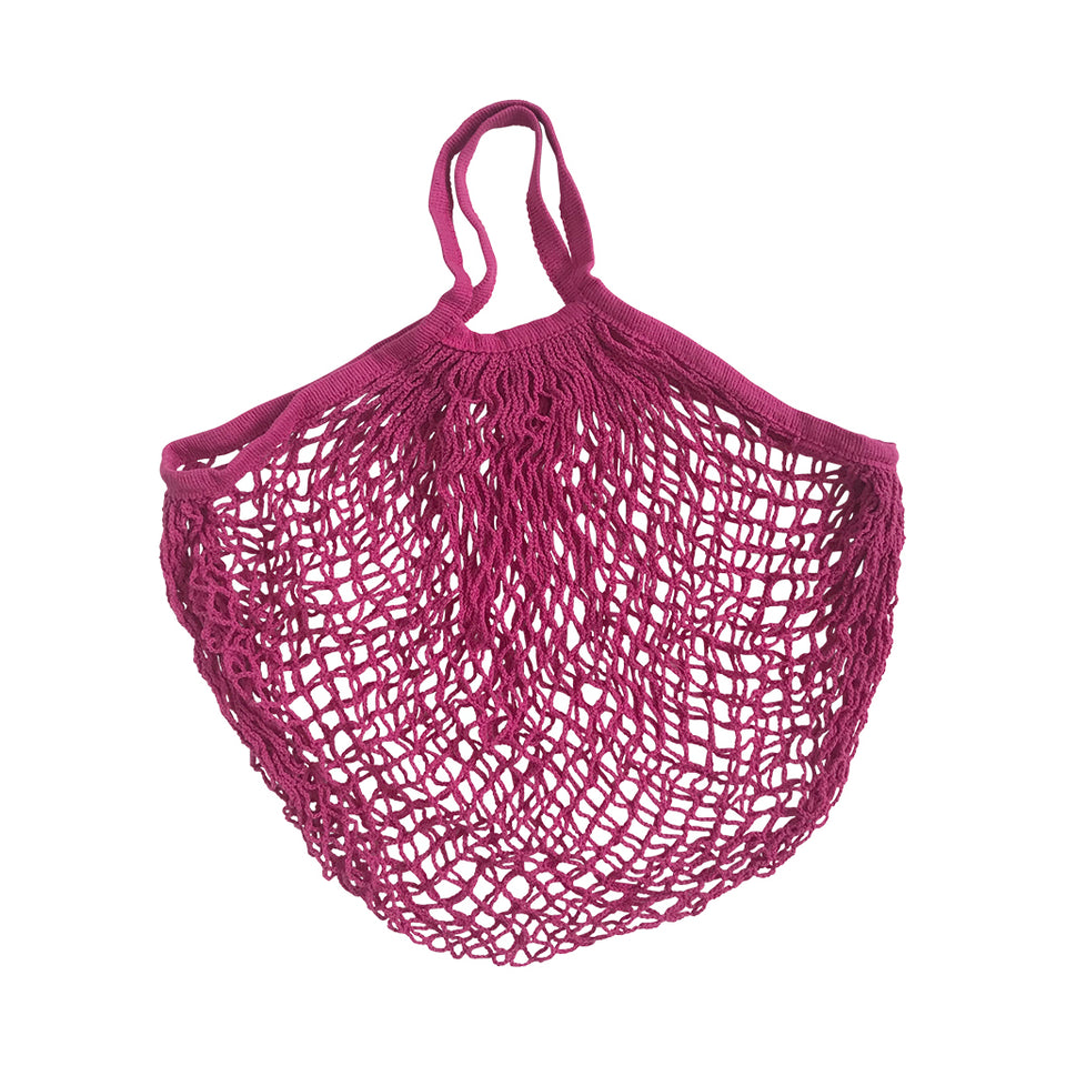 String Shopper - Bright Pink