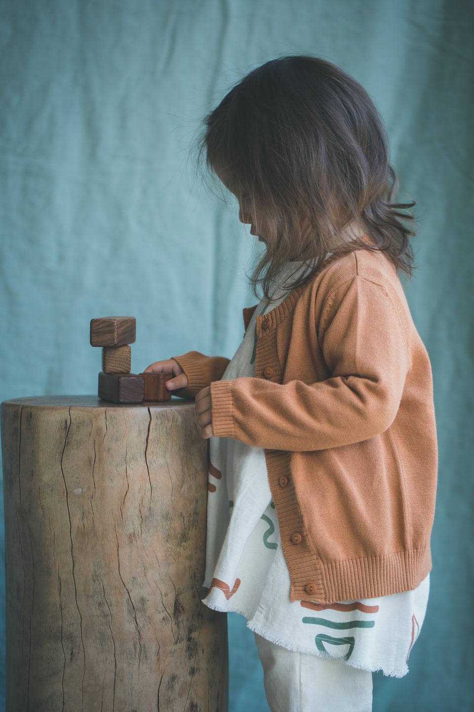 Adair Baby Cardigan - Toffee