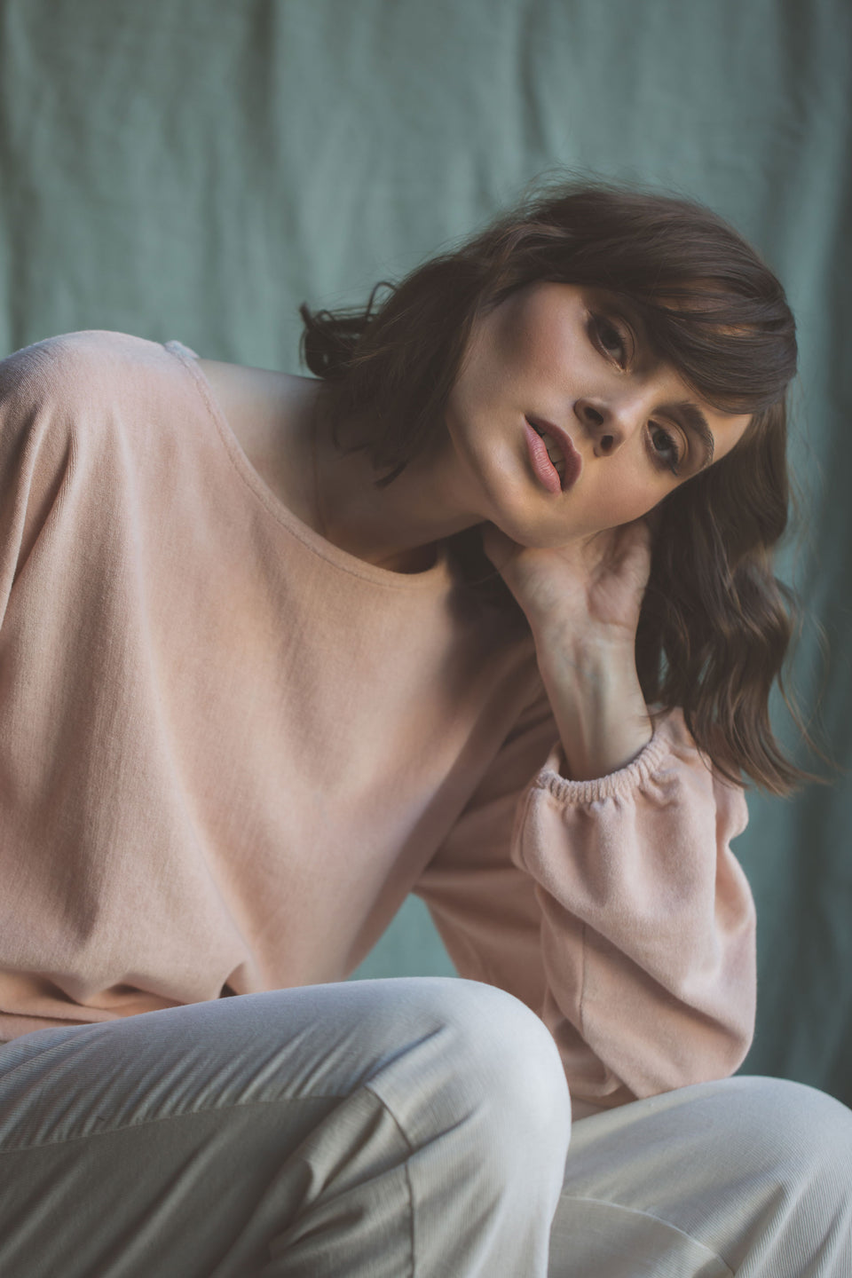 Quinn Sweater - Blush