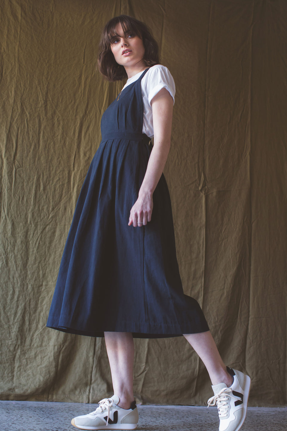 Penelope Pinafore - Black