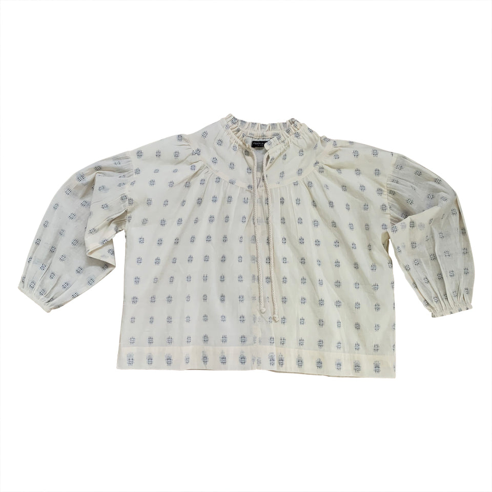 DIMITY BLOUSE - EMBROIDERED