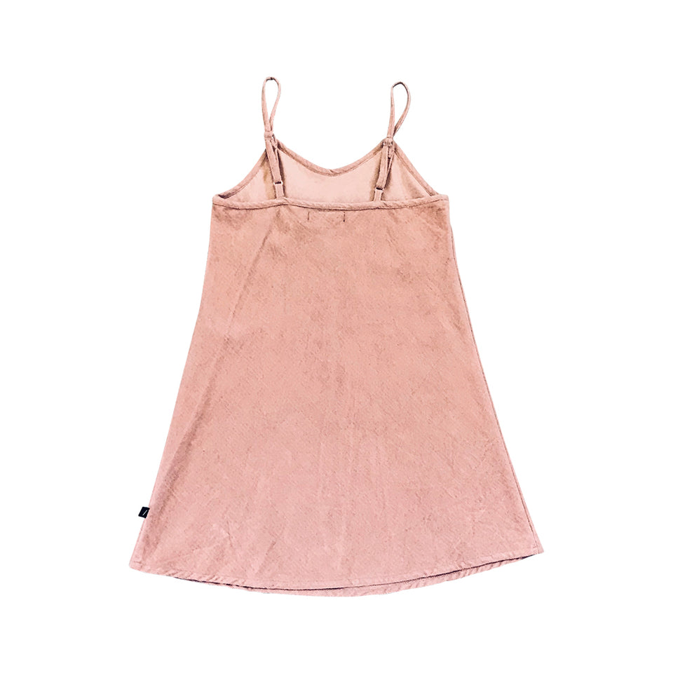 Mia Velvet Slip Dress - Dusk